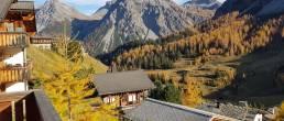 Ferienwohnung Aelplisee B4 Arosa - Brandt Ferienwohnungen Arosa Herbst