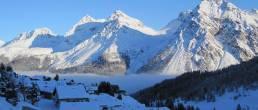 Aussieht von Ferienwohnungen Arosa Chli Alpa B13 in der Ferienregion Arosa Lenzerheide