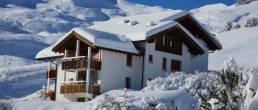 Brandt Ferienwohnungen Arosa Aussenansicht der Ferienwohnung Chli Alpa A1 in der Ferienregion Arosa Lenzerheide